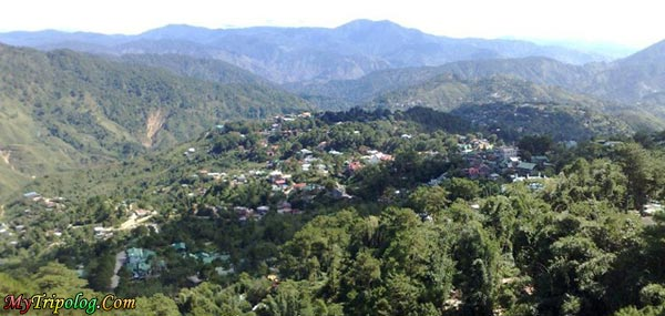 General view of Baguio from Mines View Park,baguio,mines view,philippines