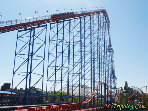 six flags new england superman. crazy superman roller coaster