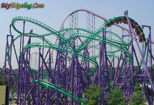 six flags rides. coaster,six flags america,