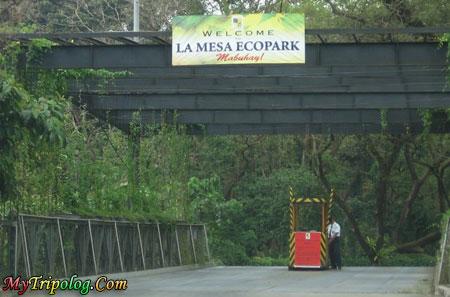 la mesa eco park entrance,la mesa eco park,east fairview,quezon city,philippines