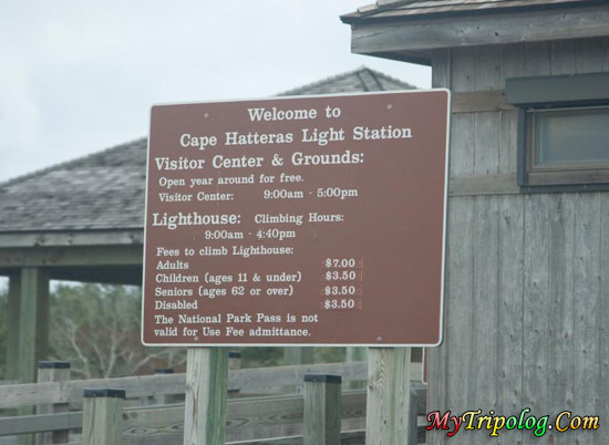 lighthouse entrance,cape hatteras lighthouse,museum,buxton,north carolina,USA
