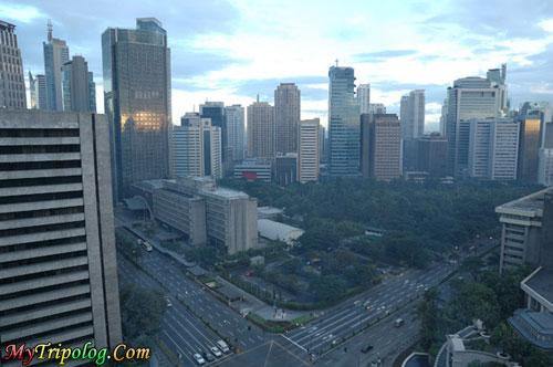 makati manila,philippines,eye bird view