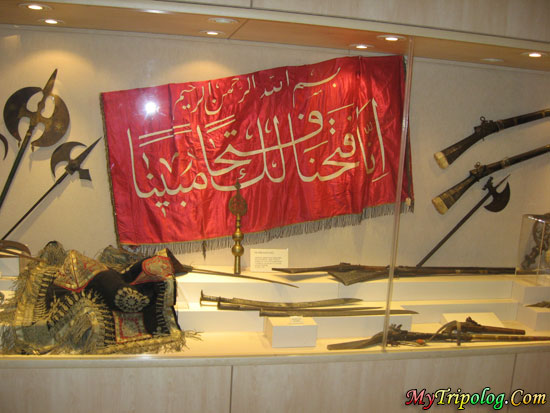 museum in estergon castle,ankara,estergon castle