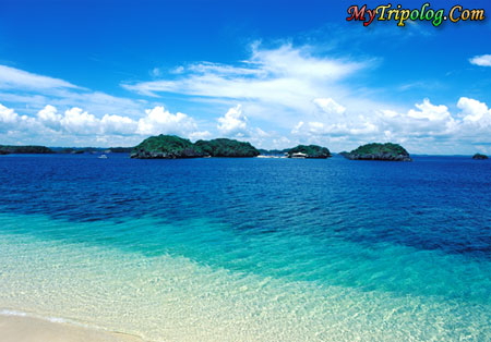 An excellent sle of gorgeous palawan beaches and crystal water