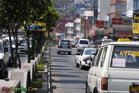 Traffic in Session Road,Baguio,session road,baguio,philipines