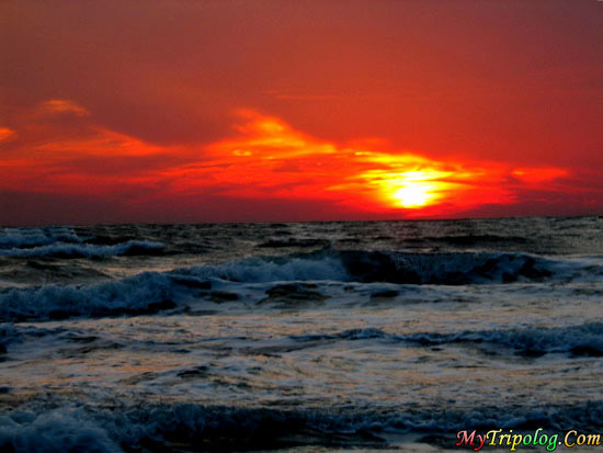 spectacular sunset in buxton,buxton,sunset,cape hatteras,NC,USA,Sea