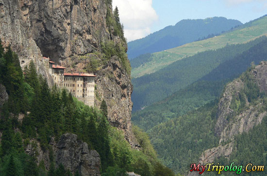 sumela monastery in trabzon,turkey,mountain,sumela monastery,trabzon