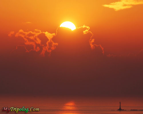 excellent sunset view in manila,sunset,philippines,manila