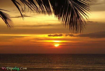 sunset on white beach,sunset, philippines, puerto galera