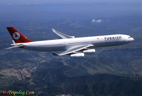 turkish ailrlines airbus A340,turkish,airlines,airbus,a340