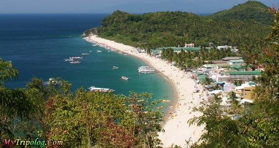 White beach puerto galera philippines,white,beach,general,view,philippines