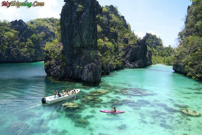 Philippines,Palawan,El Nido,activities,kayaking,big lagoon,wallpaper