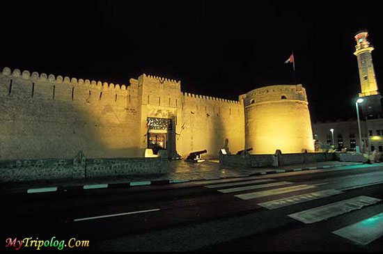 bur dubai at night,bur dubai,dubai museum,view,dubai,UAE