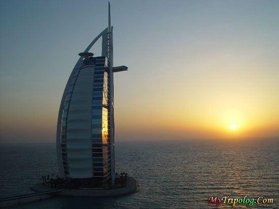 dubai sunset,burj al arab hotel,sunset,view,dubai,united arab emirates,emirates
