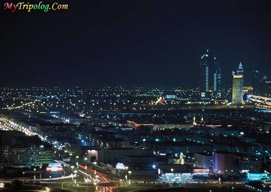 wallpaper city. dubai city at night,dubai view