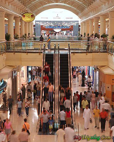 (Malls in Dubai, UAE)