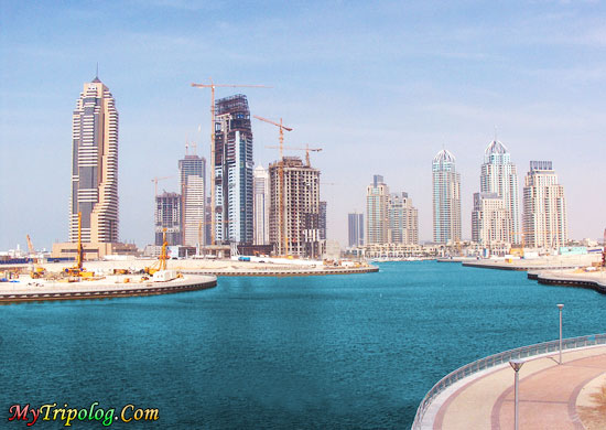dubai view,river,buildings,wallpaper,photoshop work