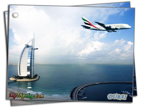 emirates aeroplane burj al arab,dubai,hotel,uae,fly emirates