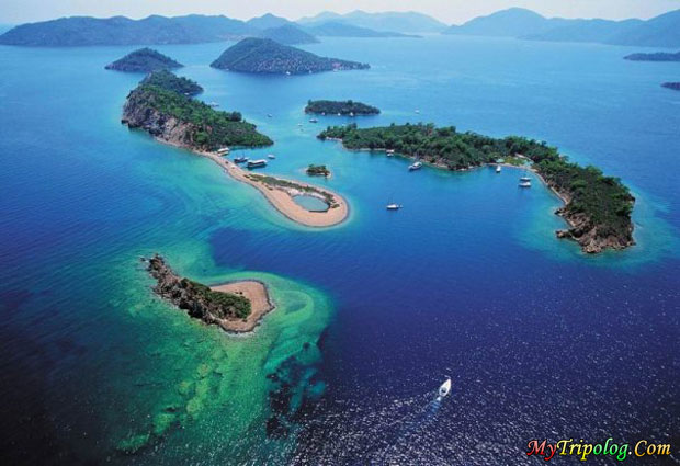 fethiye islands,turkiye,fethiye,turkey guide,oludeniz