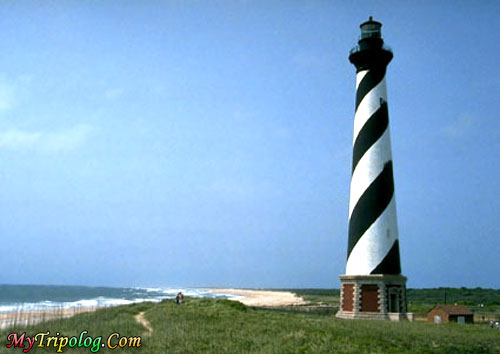 original location of hatteras lighthouse,hatteras lighthouse,buxton,NC,USA