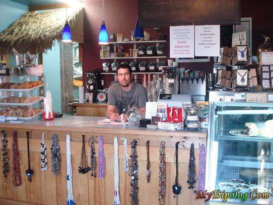 inside island perks cafe restaurant,island perks cafe restaurant,buxton,cape hatteras,nc,usa
