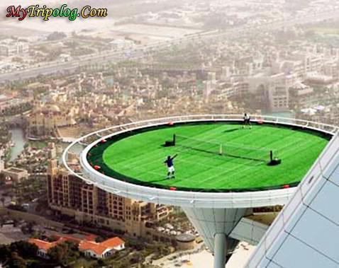 tennis on burj al arab hotel,dubai view,burj al arab,uae,wallpaper,amazing
