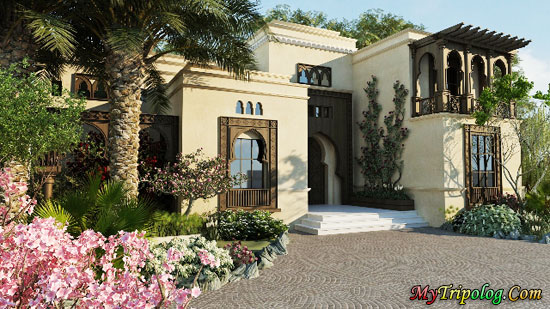 tiger woods villa in dubai,dubai,villa,uae,tiger woods,