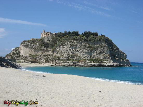 italy beach,tropea from the beach,italy,tropea