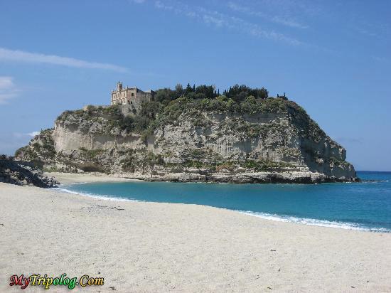 italy beach,tropea from the beach,italy,tropea