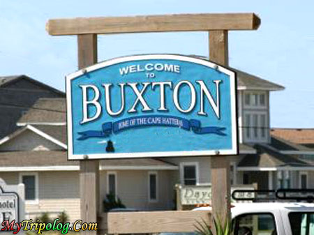 welcome to buxton,buxton entrance,buxton,NC,USA,travel,trip advise
