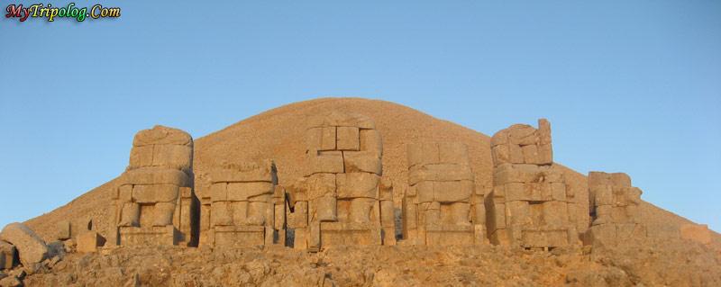 mount nemrut statues,mount nemrut,turkey,adiyaman,commagene