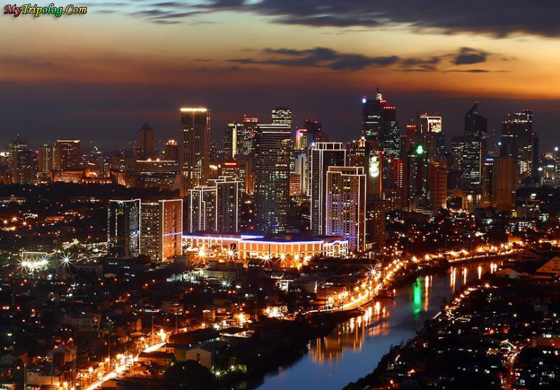 manila at night,manila,wallpaper,philippines