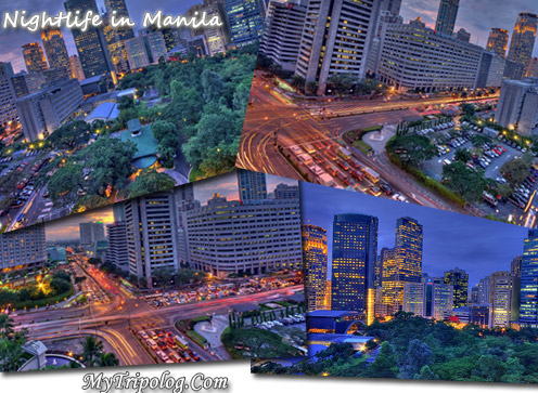 nightlife in manila,postcard,photoshop desing,philippines
