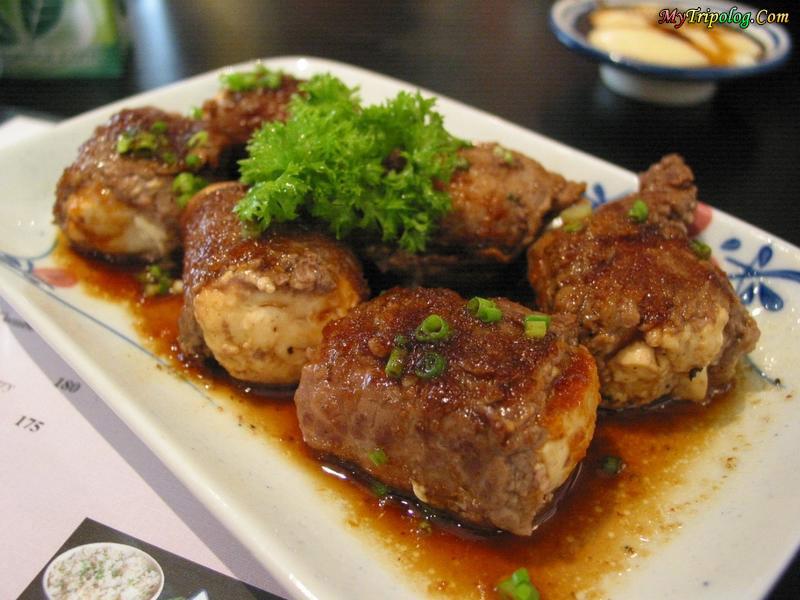 tofu steak,filipino foods,filipino restaurants,philippines