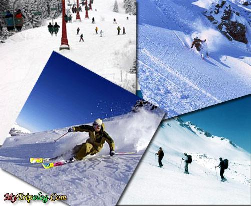 winter tourism in turkey,winter,e-card,ski resorts in turkey,photshop design