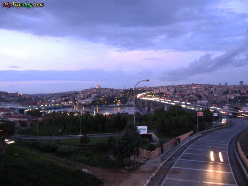 istanbul traffic,bridge,rain,wallpaper,turkey