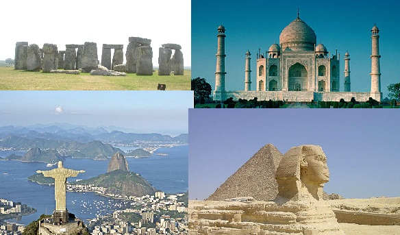 7 wonders of the world - 7 w0ndErs 0v dA woRld