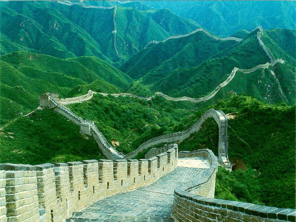 Great Wall of China2 - 7 w0ndErs 0v dA woRld