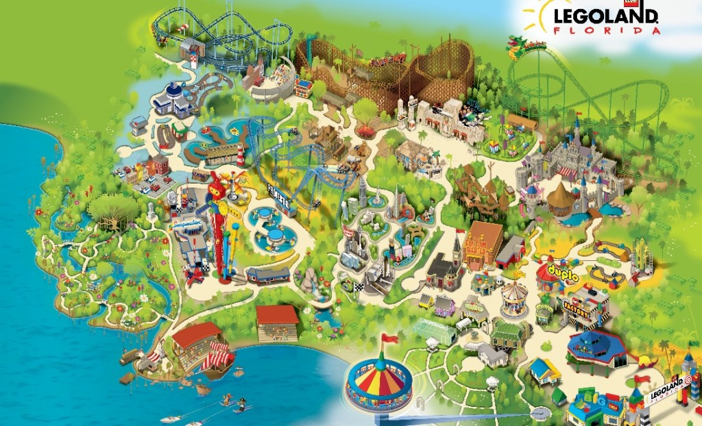 Pics Photos  Legoland Map