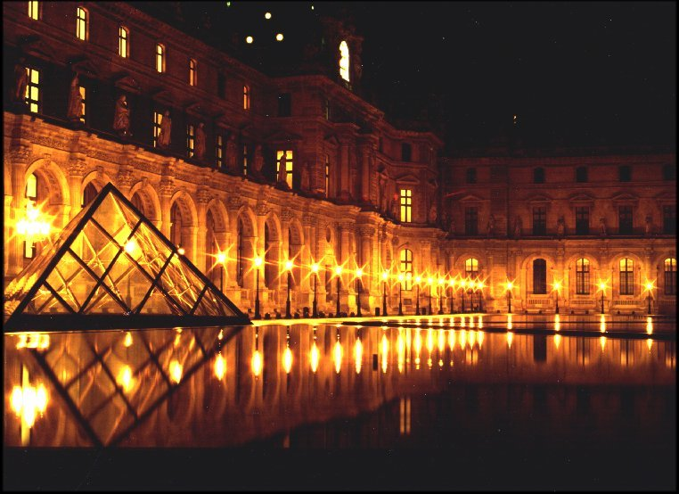 Louvre is one of the largest museums in the world and is one of the