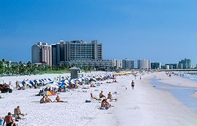 St Petersburg Clearwater America S 1 Beach Travel