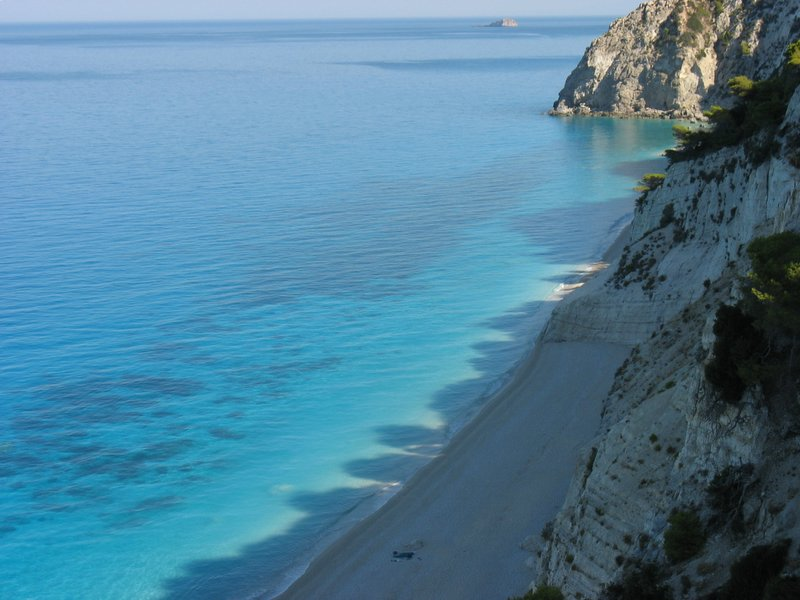 greece wallpaper. Beach Of Lefkada, Greece