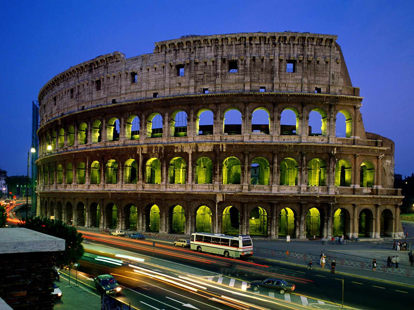 Modern Wonders Of The World; Colosseum, Italy – Travel ...