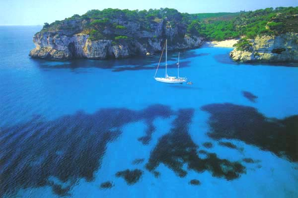 yachting in minorca island spain
