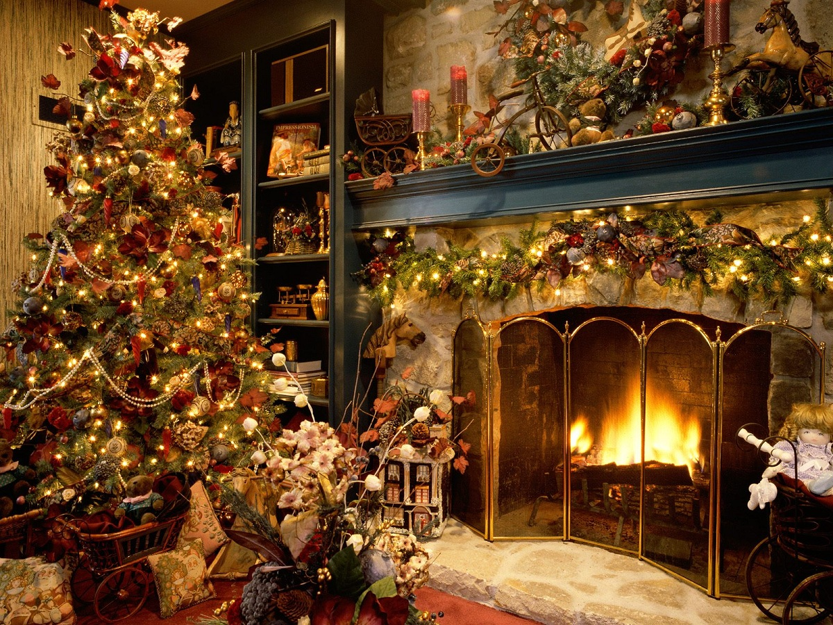 Christmas decoration examples ideas christmas decorating Christmas interior decorating ideas