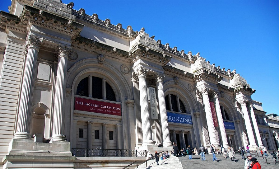 Top 5 popular new york museums travel around the world for The metropolitan museum of art nyc