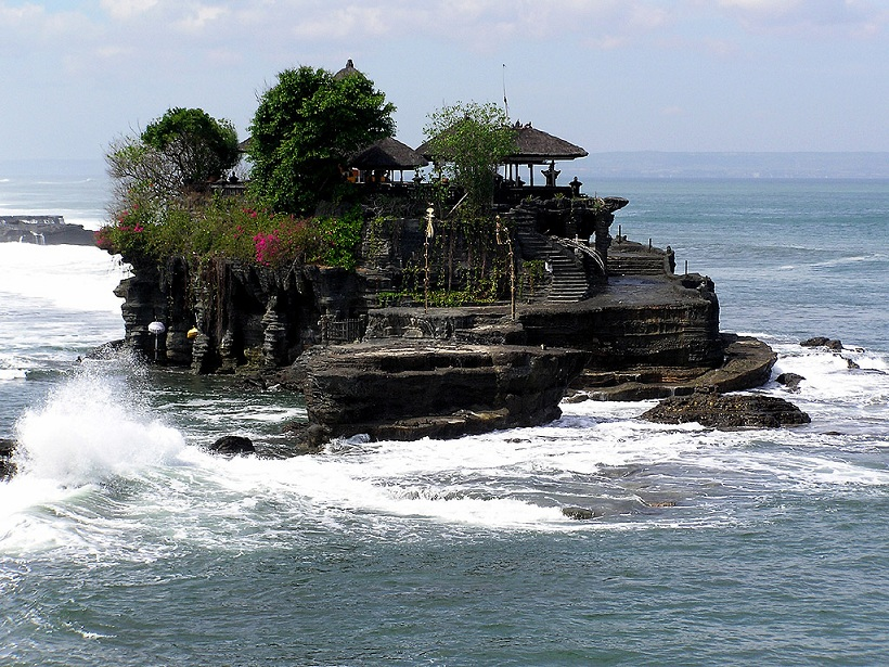 Tanah Lot Temple of Bali Islands Indonesia - .................best Island................