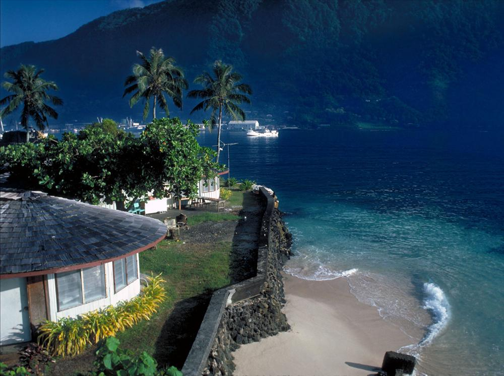 stunning nature of American Samoa Island of Pacific - .................best Island................