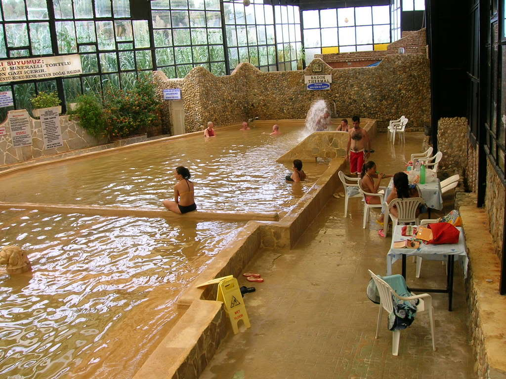 people in spa, wellness center pool