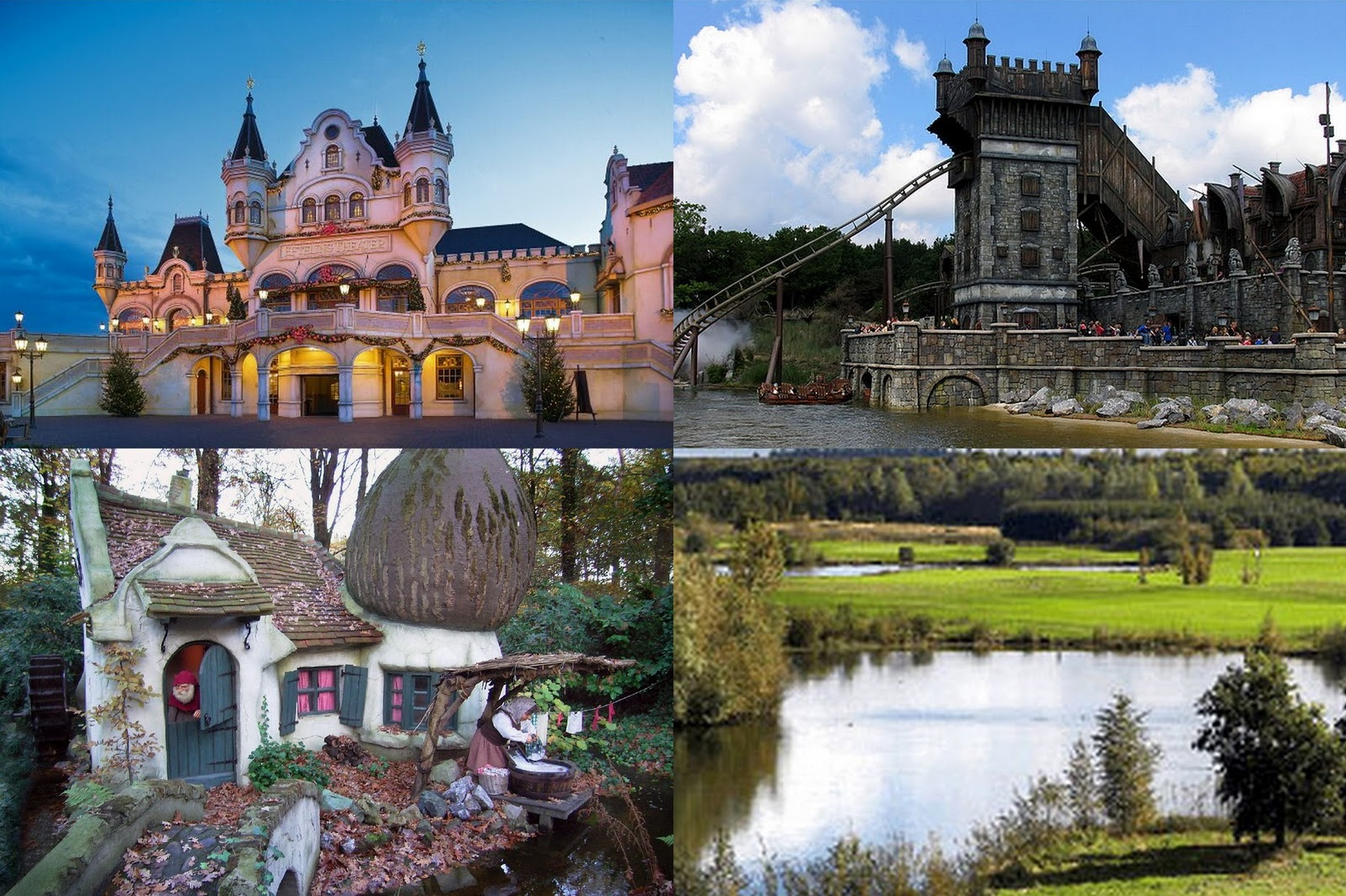 Top best 5 fun places in netherlands travel around the for Amusement park netherlands